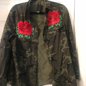 Forever 21 Jackets & Coats - Camouflage Jacket